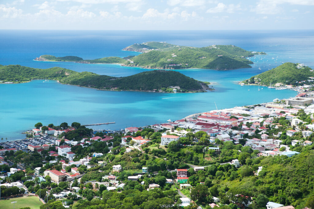 St. Thomas, one of the US Virgin Islands.