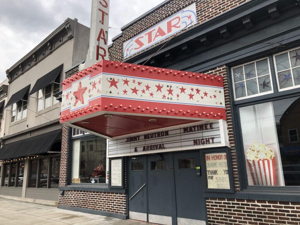 STAR Theatre, Berkeley Springs, West Virginia.