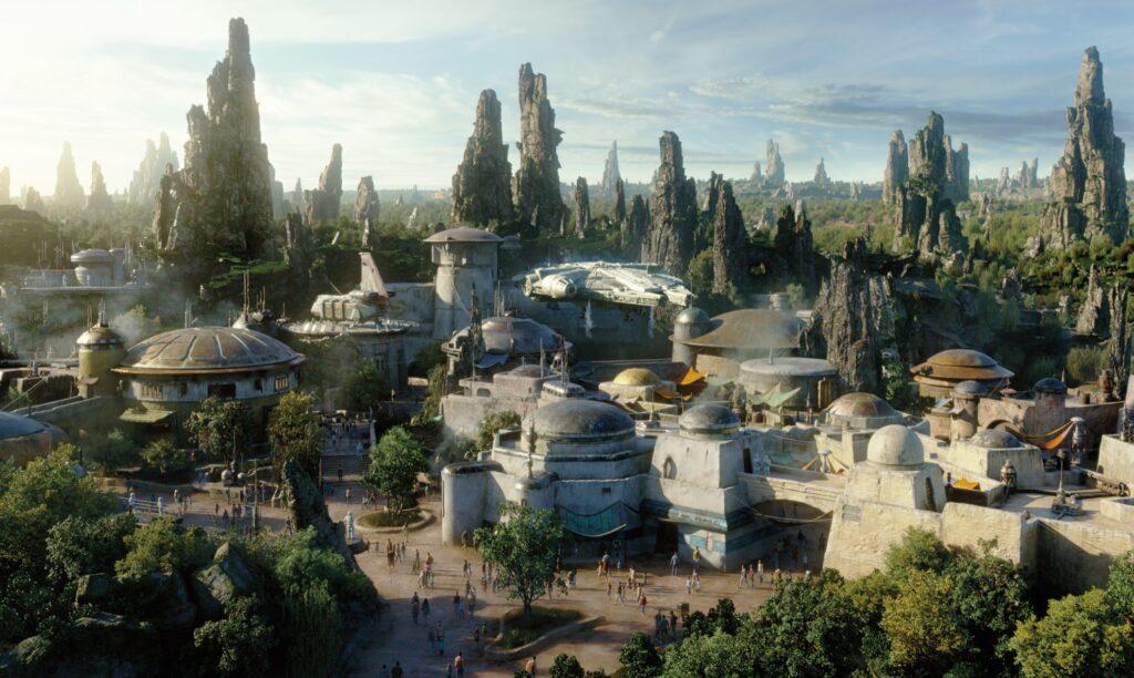 Star Wars: Galaxy's Edge at Disneyland Park.
