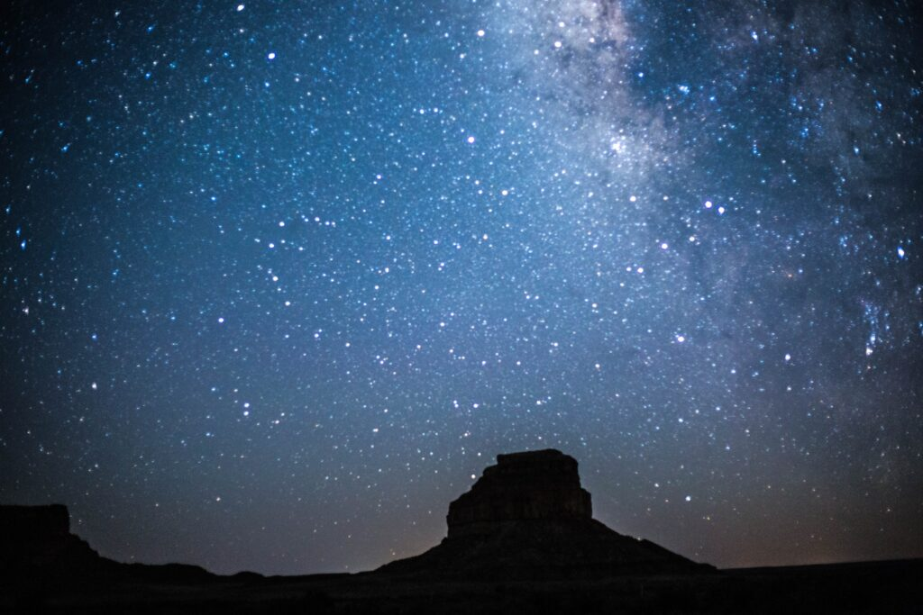 Stargazing at Chaco Culture National Historical Park.