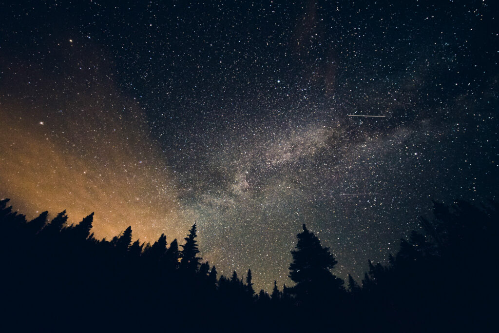 Stargazing in Breckenridge, Colorado.