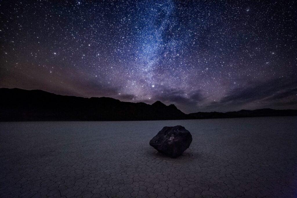 Stargazing in Death Valley, California.