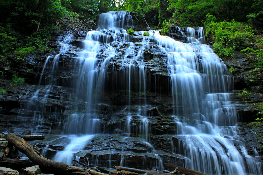 Station Falls Trail in Oconee State Park.