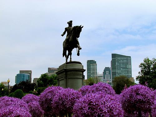 Statue at Boston Public Garden