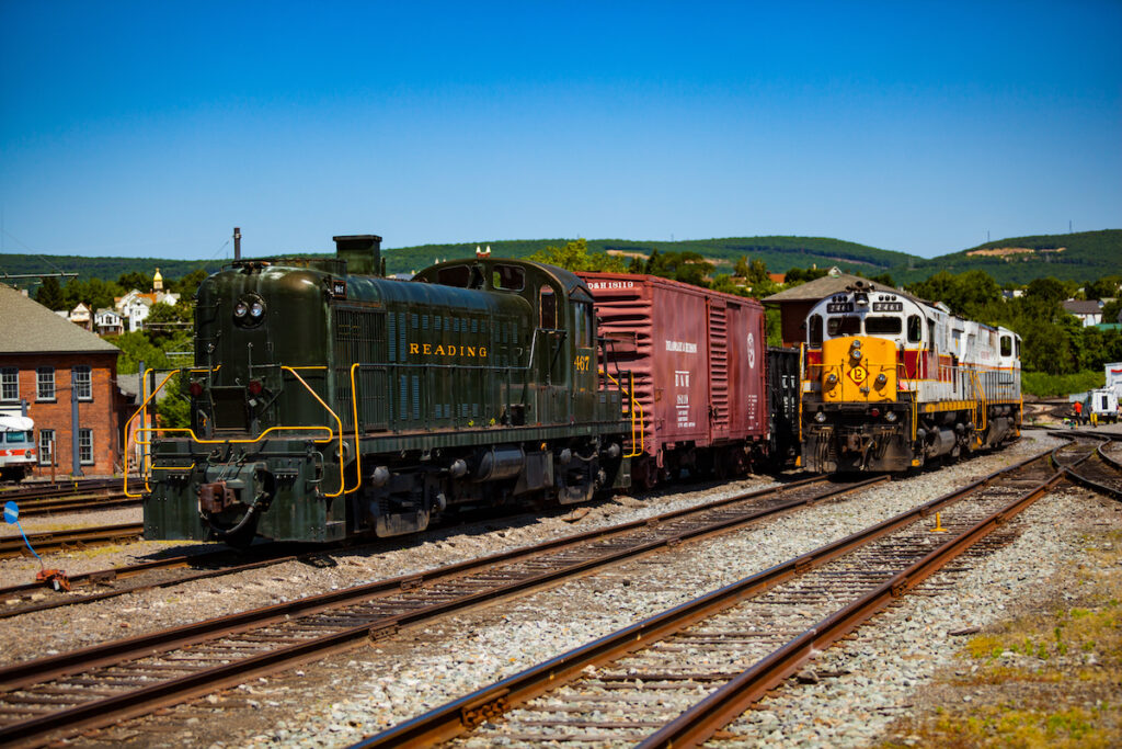Steamtown National Historic Site in Pennsylvania.