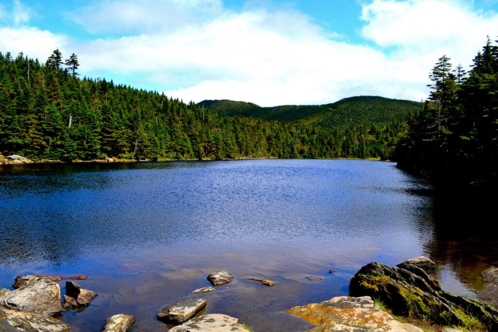 Sterling Pond in Smugglers' Notch State Park.
