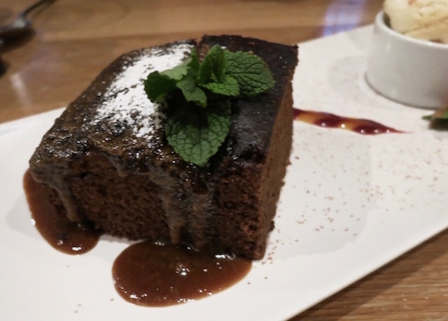 Sticky Toffee Pudding in Great Britain.