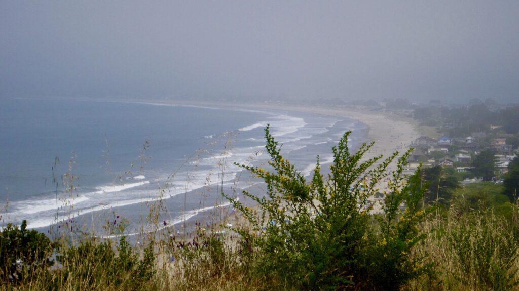 Stinson Beach in California.