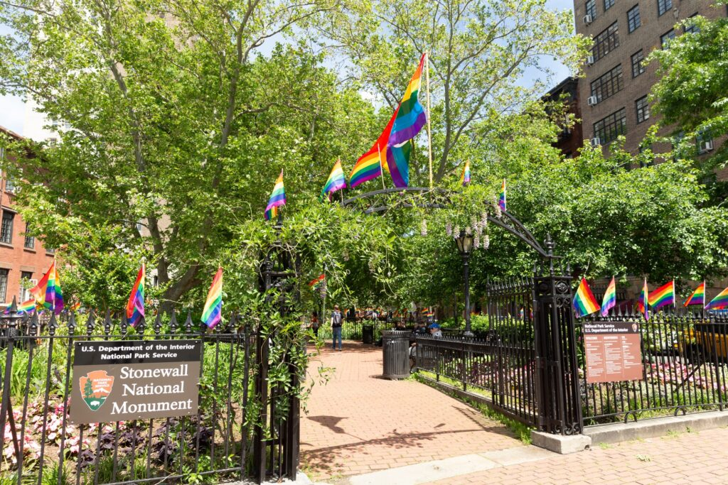 Stonewall National Monument in New York City.