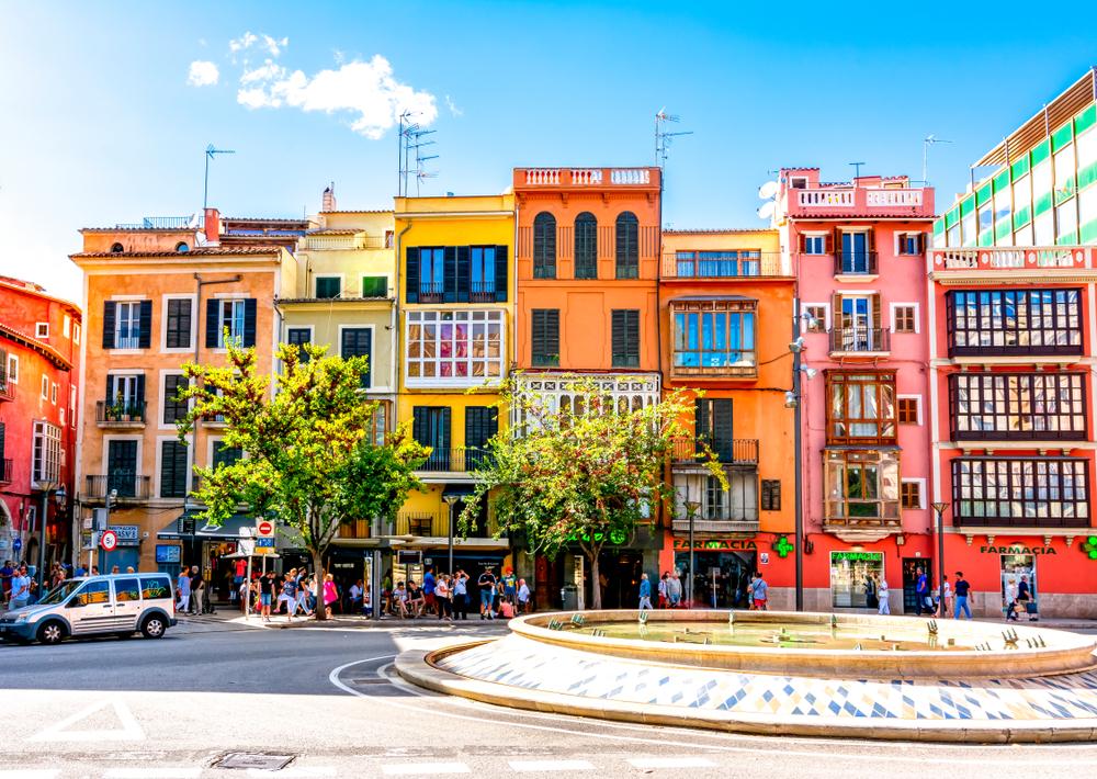 street in palma de mallorca