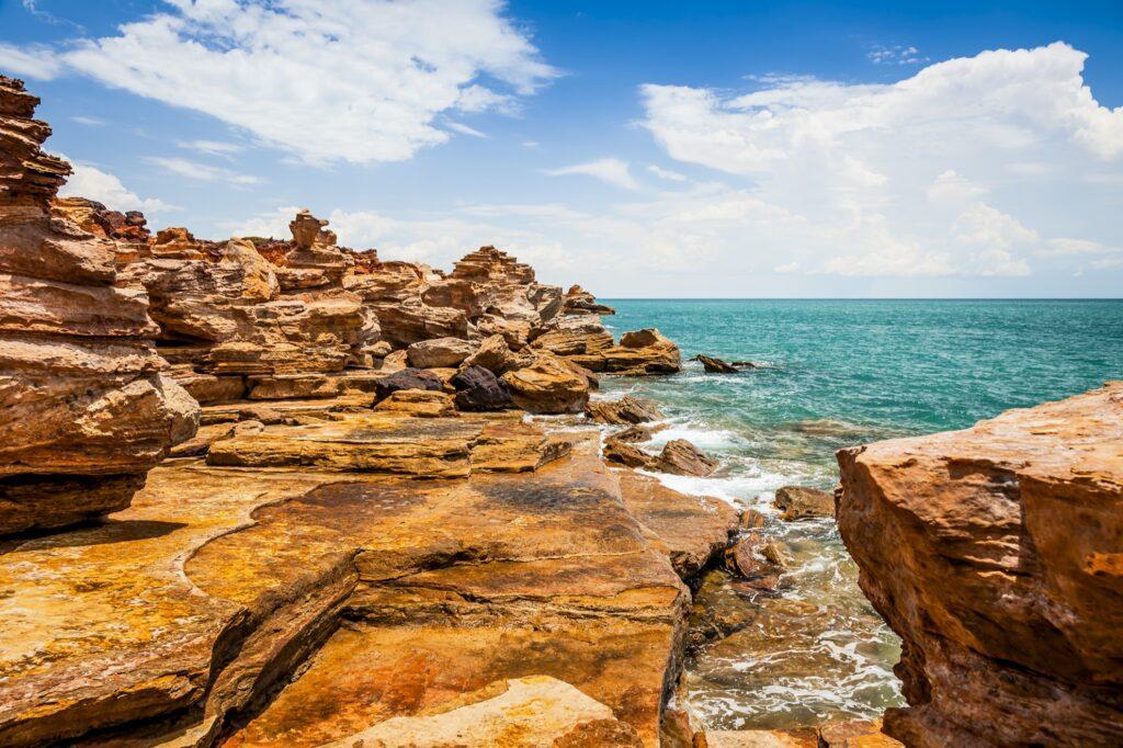 Stunning landscape in Broome, Western Australia.