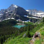 Stunning views of Glacier National Park.