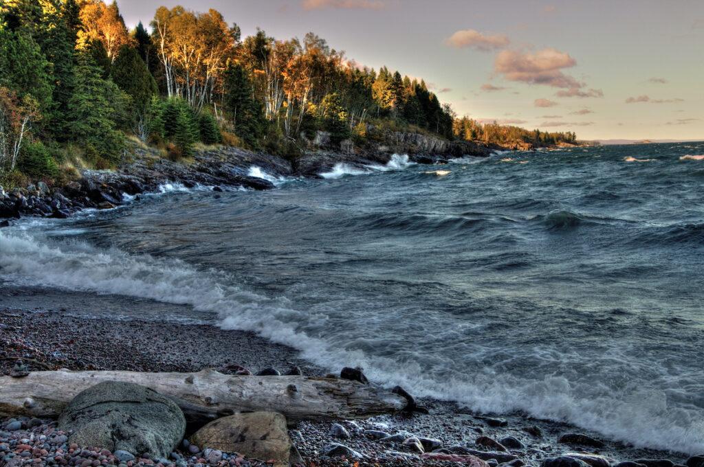Sugarloaf Cove in Minnesota.