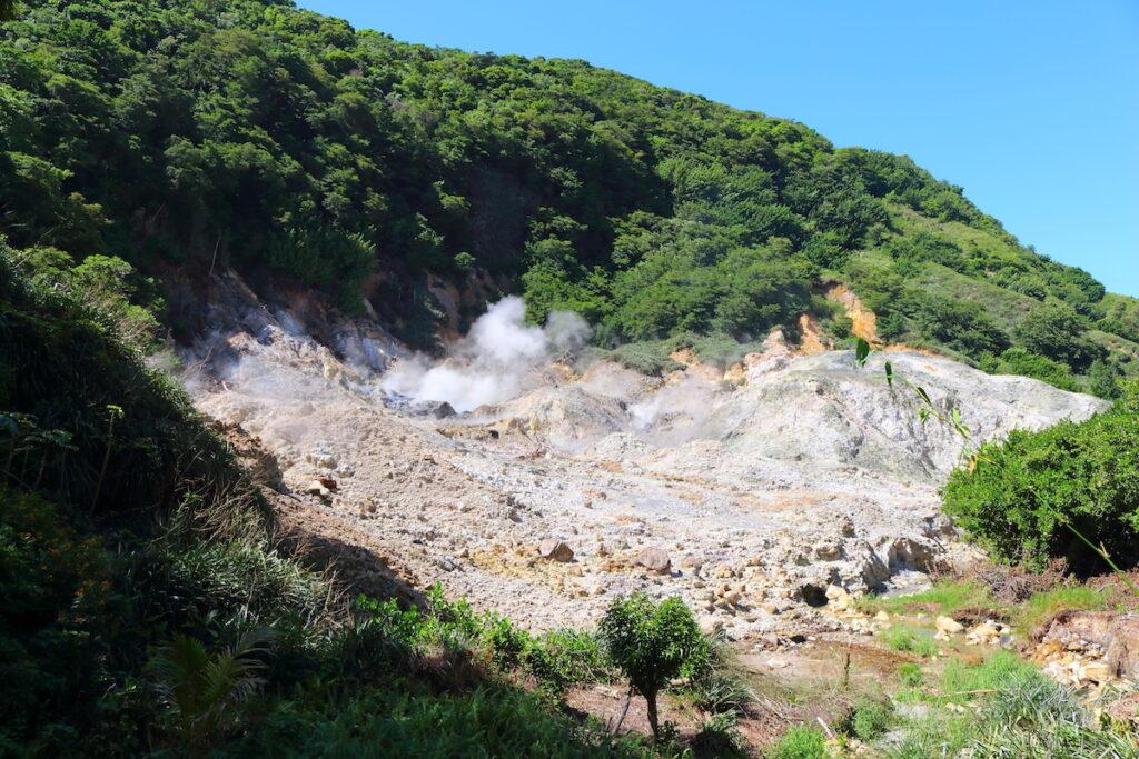 Sulphur Springs in Saint Lucia.