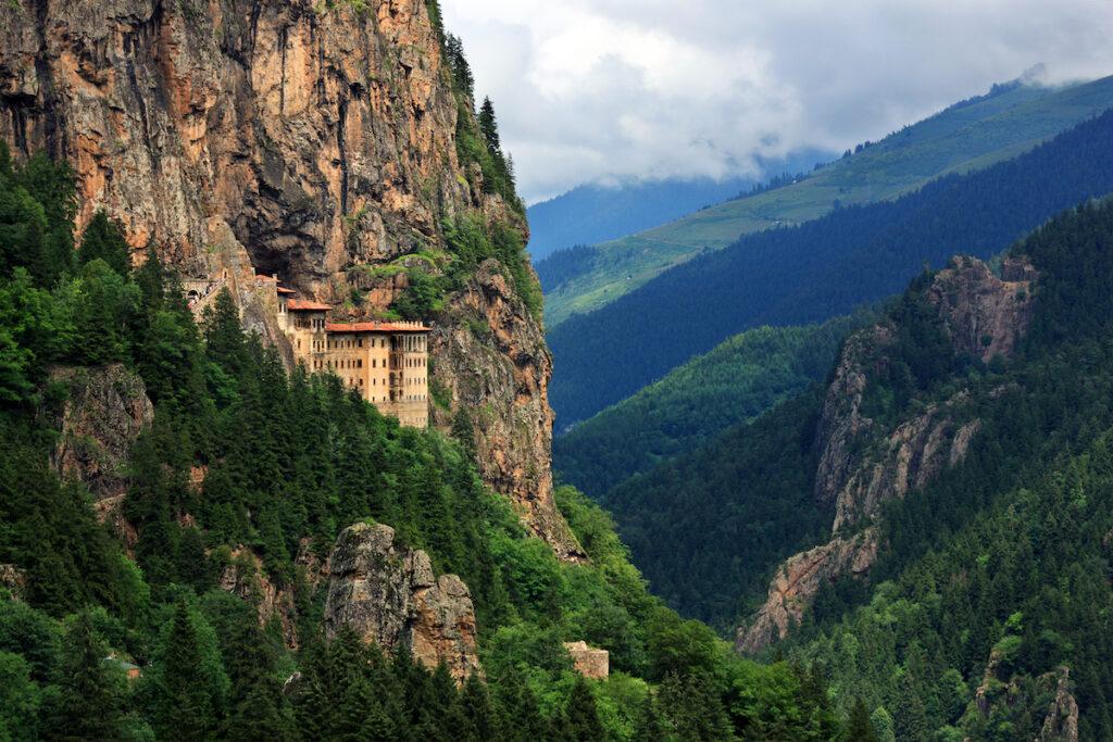 Sumela Monastery near Trabzon in Turkey.