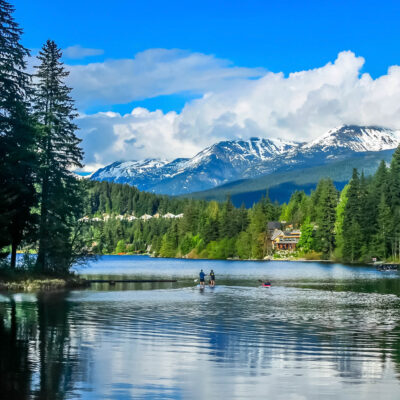 Summertime in Whistler, British Columbia.