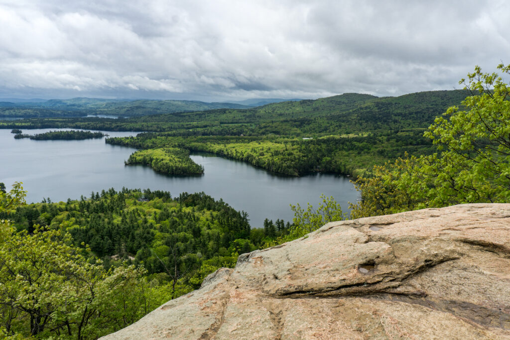 Summit views form West Rattlesnake Mountain.