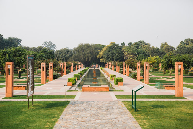 Sunder Nursery Monument in Delhi.