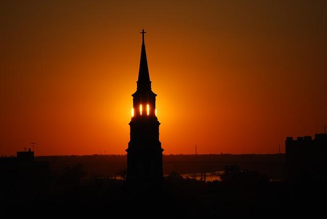 Sunset in Charleston, SC.