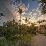 Sunset in Punta Cana, Dominican Republic.