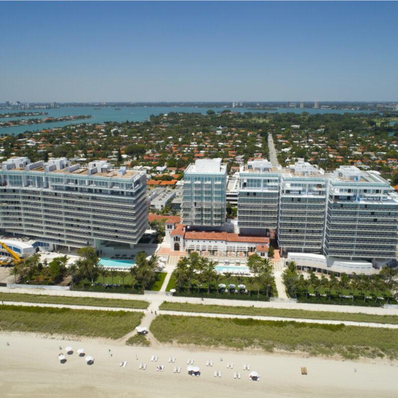 Surfside Beach, near Miami, Florida.