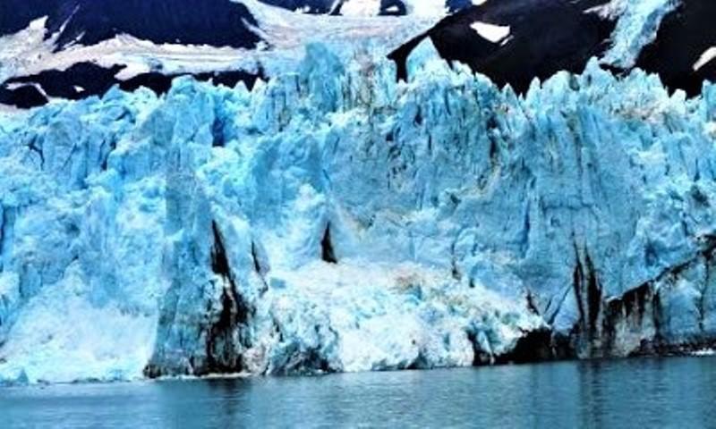 Surprise Glacier in Prince William Sound.