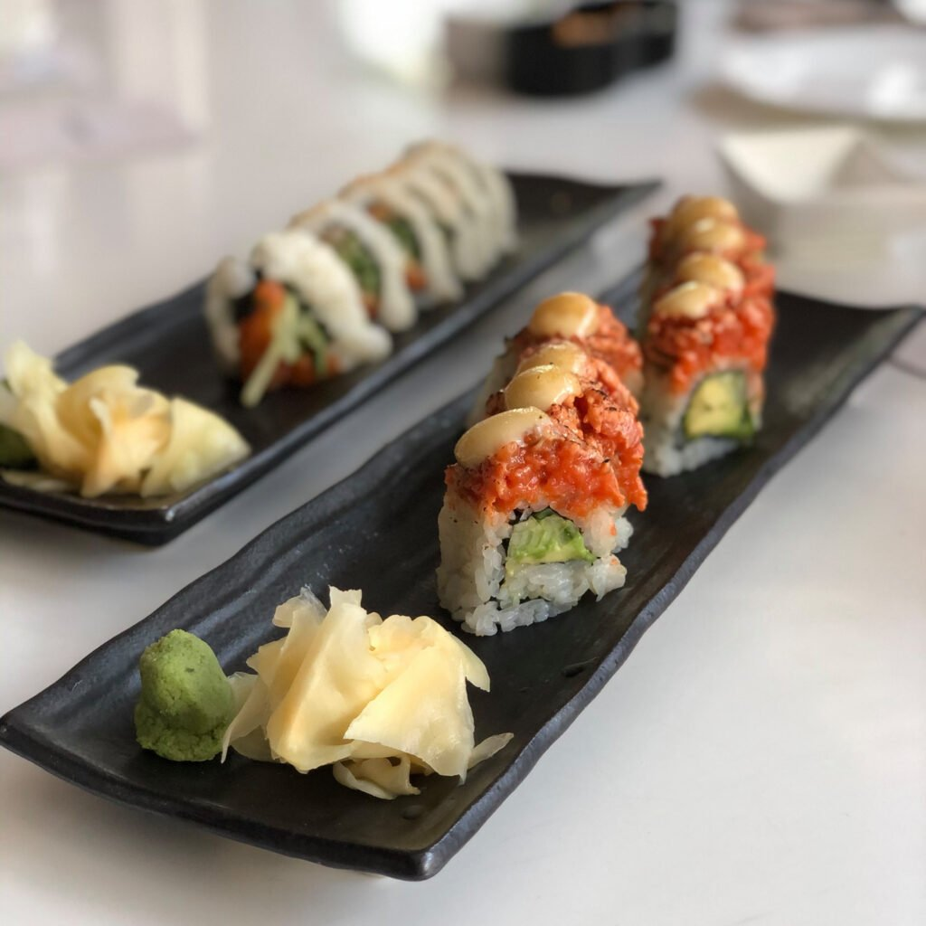 Sushi from the Fairmont Pacific Rim.