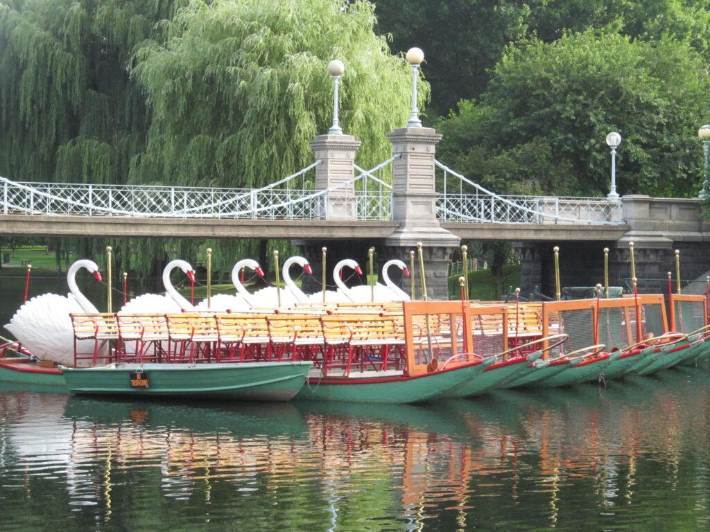 Swan Boats, Public Garden, Boston