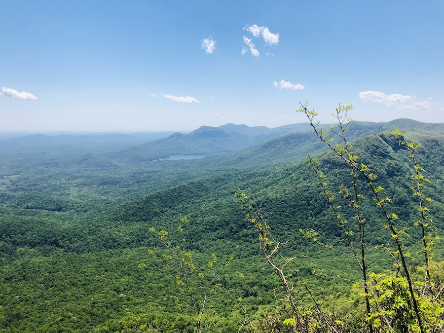 Sweeping views from Table Rock State Park.