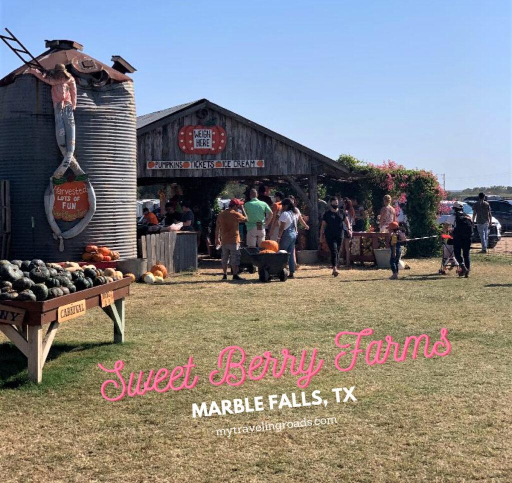 Sweet Berry Farm in Marble Falls, Texas.