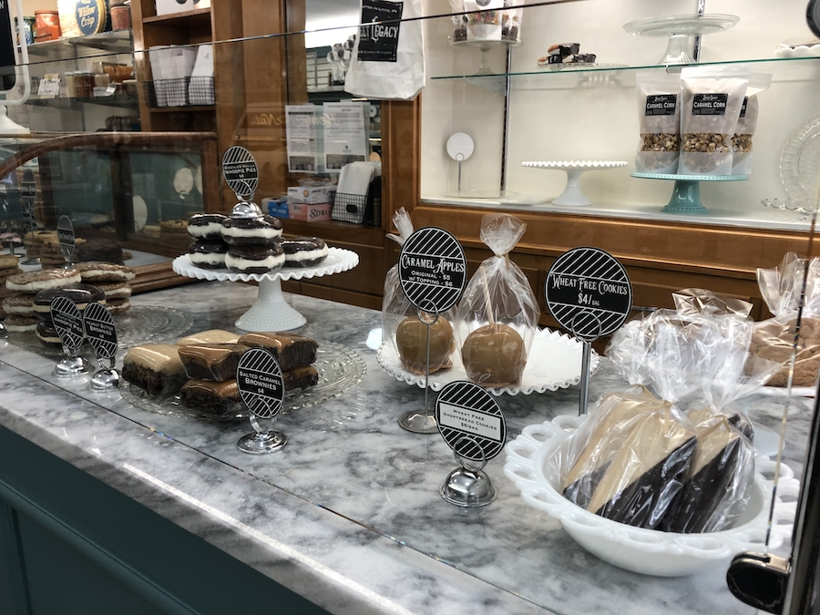 Sweet Legacy Gourmet Bakery and Candy Kitchen in Pennsylvania.