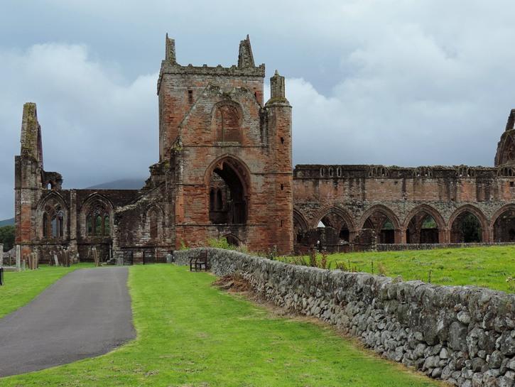 Sweetheart Abbey, Dumfries, Scotland