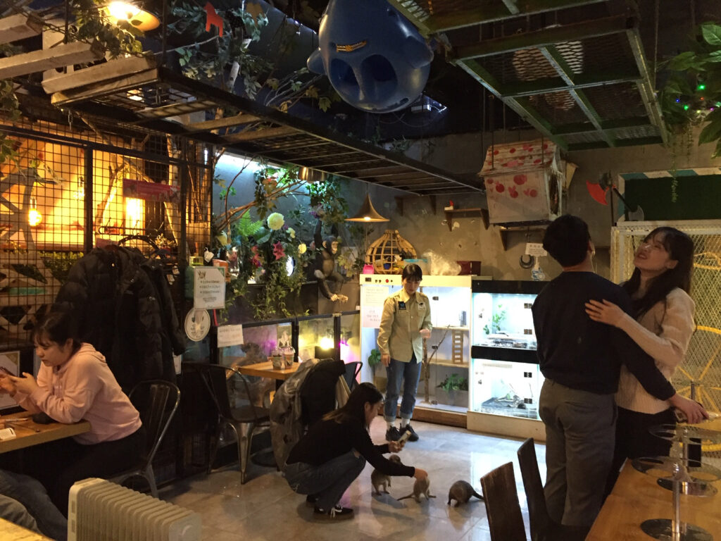 Table A cafe in Seoul, South Korea.