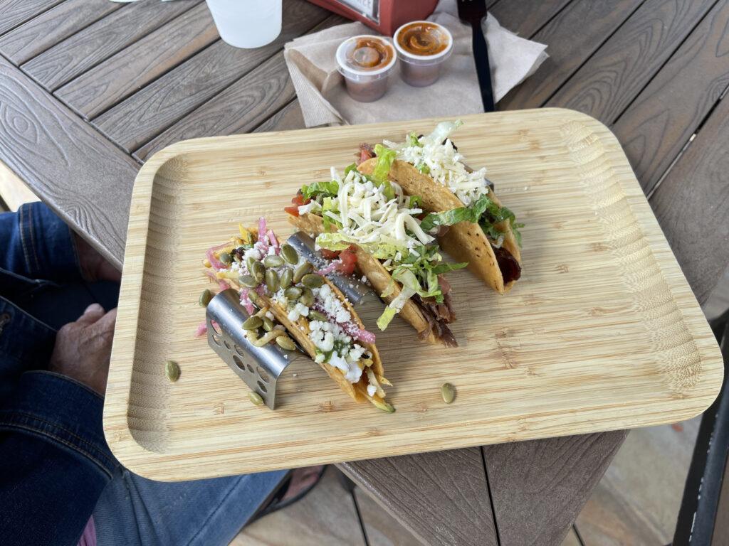 Tacos in Naples, Florida.