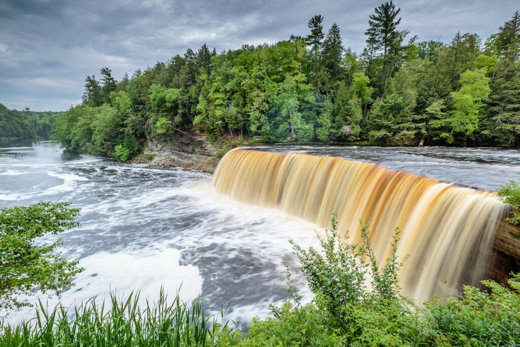 Tahquamenon Falls State Park in Michigan.