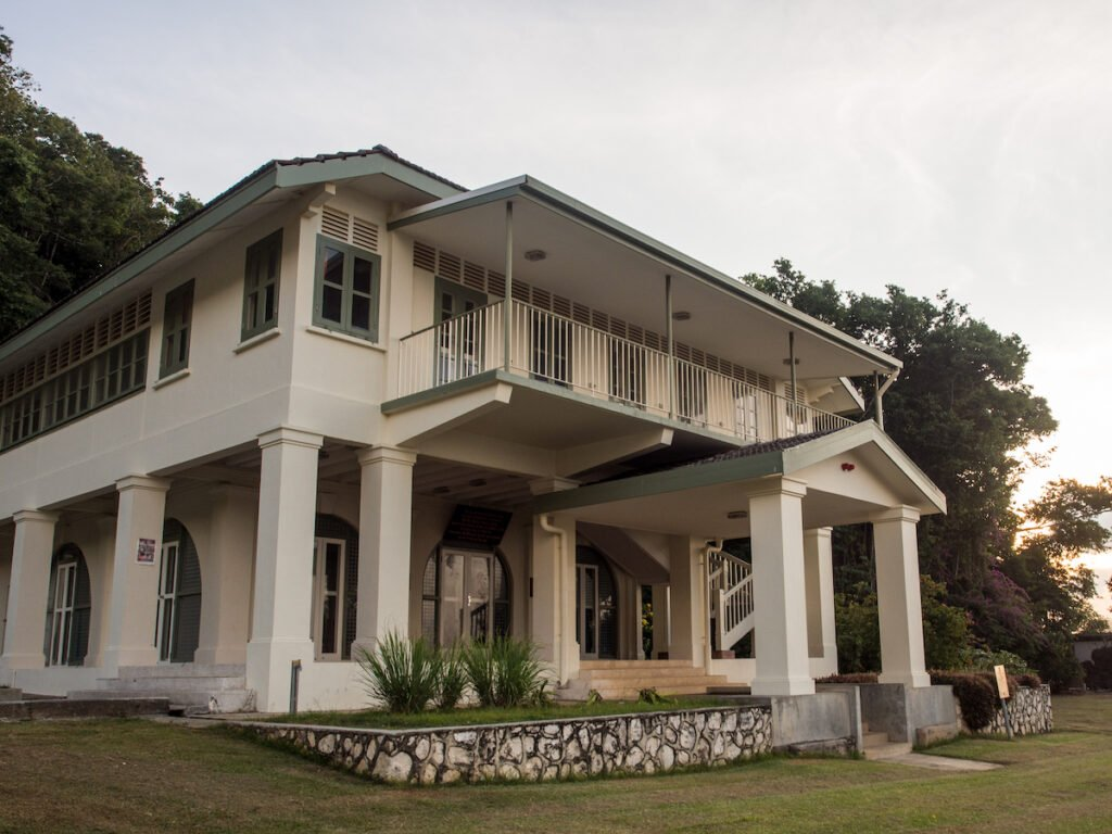Tai Jin House on Christmas Island.