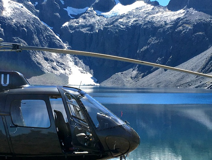 take a private helicopter tour to add luxury on a road trip like this one in New Zealand