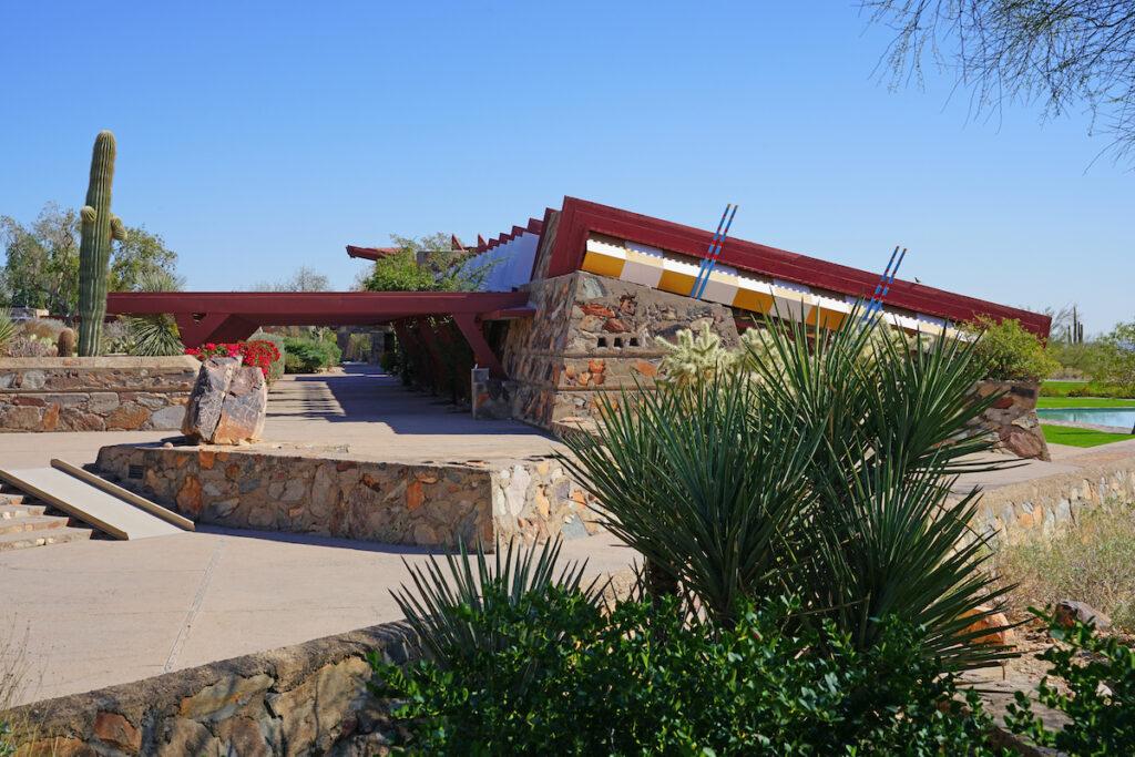 Taliesin West in Scottsdale, Arizona.