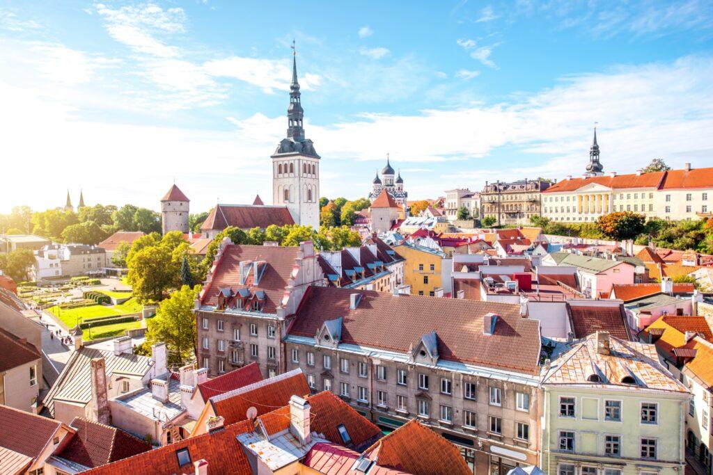 Tallinn in Estonia.
