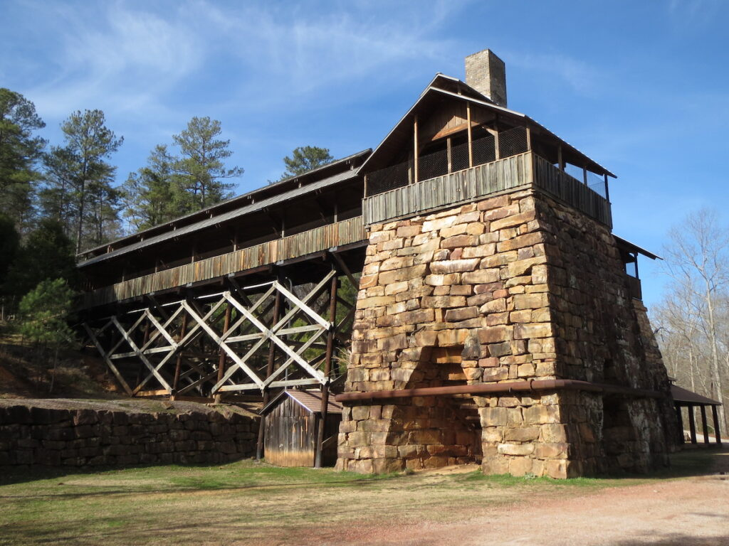 Tannehill Ironworks Historical State Park in McCalla, Alabama.