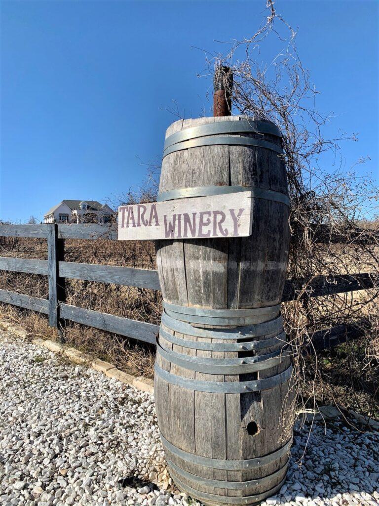 Tara Vineyard and Winery in Athens, Texas.