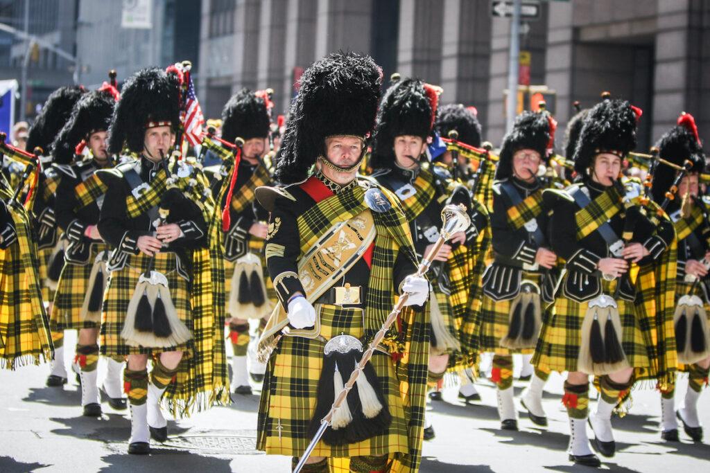 Tartan Day Parade, New York City.
