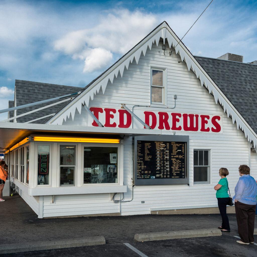 Ted Drewes Frozen Custard.