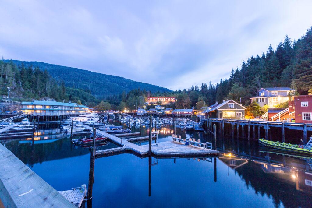 Telegraph Cove in British Columbia.