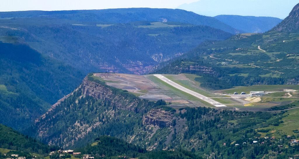 Telluride Regional Airport in Telluride, Colorado.