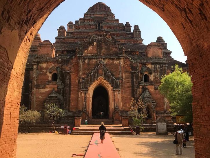 Temple in Bagan, Myanmar