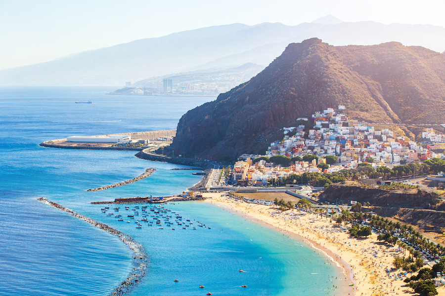 Tenerife, the largest of the Canary Islands.