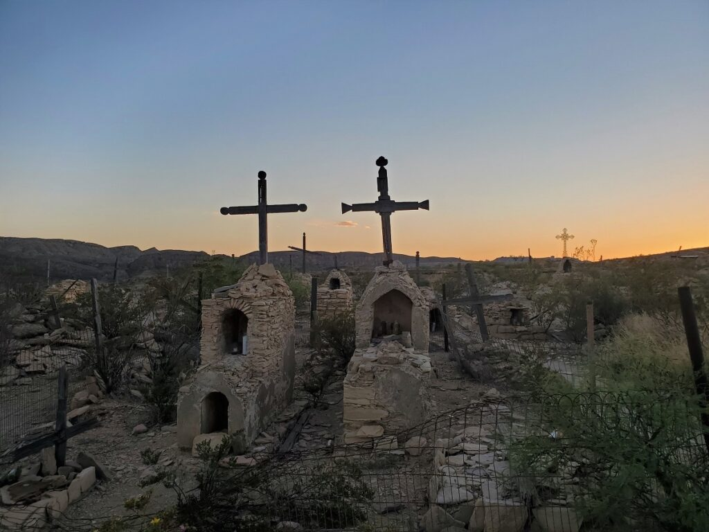 Terlingua Ghost Town Cemetery.