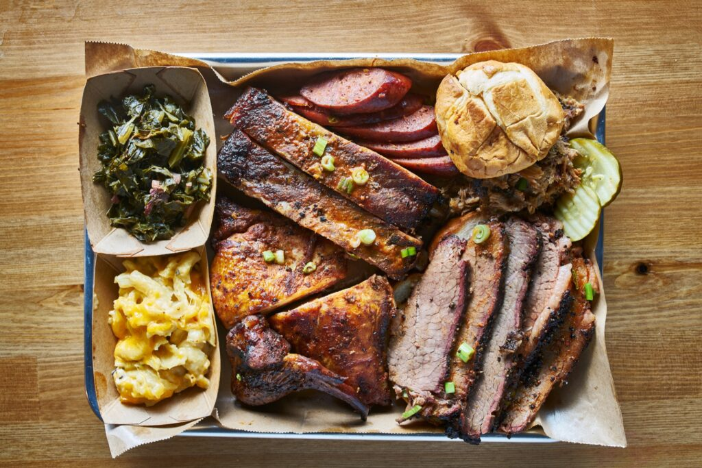 Texas-style barbeque.