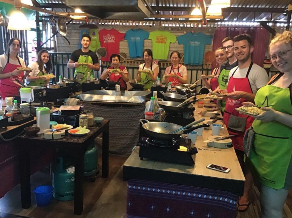 Thai Akha Cooking School in Thailand.